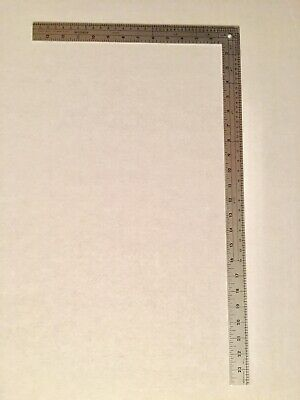 Fairgate L-Square Metal Designer Ruler 14x24  Dressmaking Sewing Tailoring