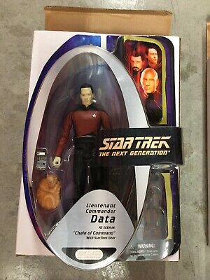 "Diamond Select Toys Star Trek Data red Chain Of Command 7"" action figure"