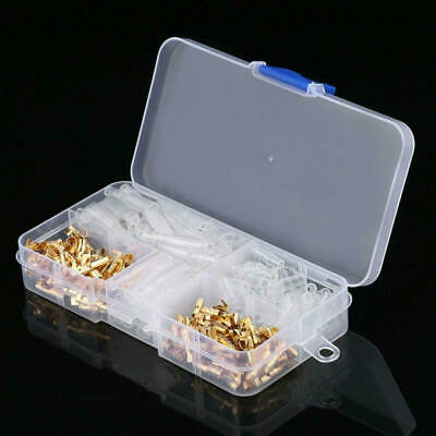 120pcs/set Practical 3.5mm Connector Terminal Male Female with Cover asd