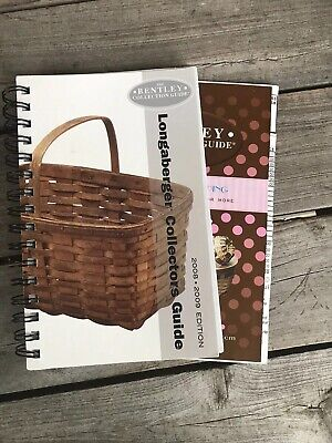 Bentley Guide To Identify Longaberger Baskets 2008-09 Edition Excellent Cond