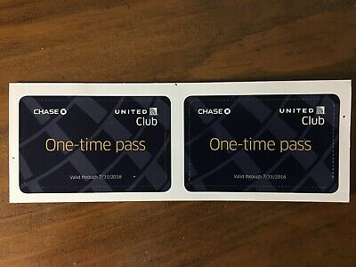 United Club (UAL) Day Passes (2) Expired