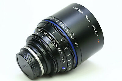 Zeiss Compact Prime CP.2 100mm T/2.1 Planar T* Cine Lens for Canon EF Mount