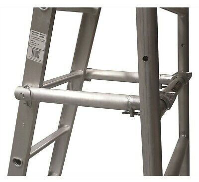Gorilla SCAFFOLD LADDER STAND OFF ARMS Suit 15ft Straight Ladder, Aluminium