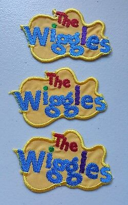 Embroidered WIGGLES LOGO MOTIF x 3,