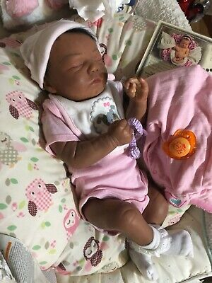 Pre-owned Ethnic Reborn Realborn Baby-Free Ship