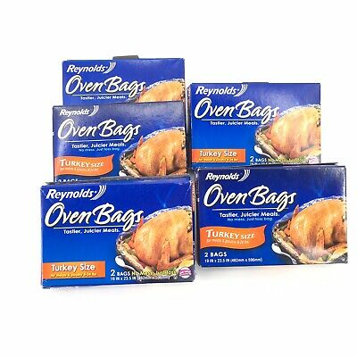 REYNOLDS TURKEY SIZE Oven Cooking Bags, 2 Count - $8.52 ...