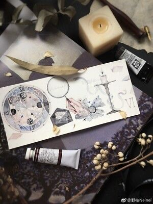 Washi Tape The First Dream Moon Night Story TN Journaling Scrapbooking