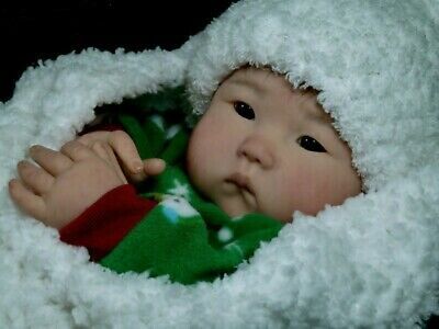 Anming Reborn Vinyl Doll Kit By Ping Lau - Sold Out! Very Hard To Find! So Cute!