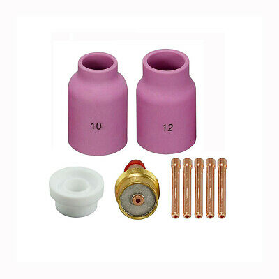 WP-17 WP-18 WP-26 TIG Welding Torches Kit Gas Lens Collet Body PK-9