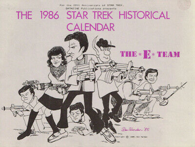 "Star Trek ""The 1986 Star Trek Historical Calendar"" GEN"