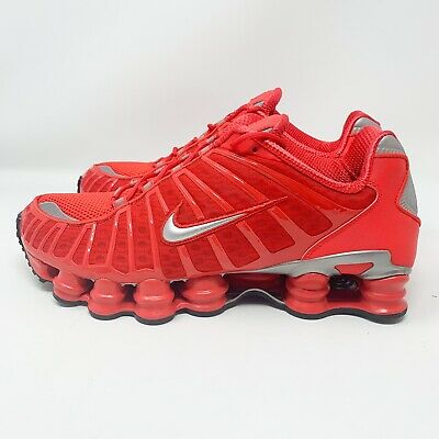 quality design a9a1a 1fb82 NEW Size 10.5 Men s Nike Shox TL Running Shoe Speed Red BV1127-600