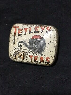 Tetleys Teas Sample Tin