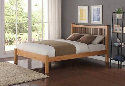 Stunning Solid Oak Aston King Size bed frame. Top Quality Oak. FREE DELIVERY