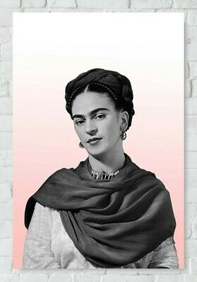 Mexican Artist LARGE A3 SiZE QUALITY CANVAS PRINT FRIDA KAHLO