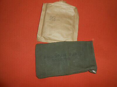 U.S.ARMY : Korea war 1953 SPARE PARTS BAG for To mmpson canvas