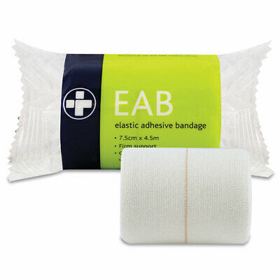 Pack Of Latex Free Elastic Adhesive Bandage Sports Injury Support Strap Tape