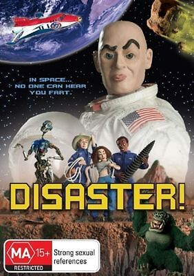Disaster ( DVD ) 2005 RARE SPOOF FILM - PUPPETS CLAY-MATION - Region 4 Australia