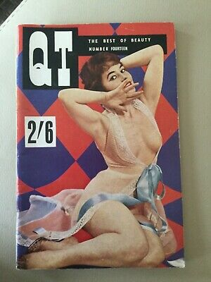 Vintage 1950's QT Magazine - the Best of Beauty- Number 14