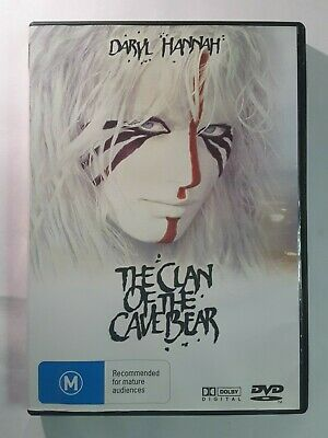 The Clan Of The Cave Bear DVD 1986 Daryl Hannah - ORIGINAL AUSTRALIAN REGION 4