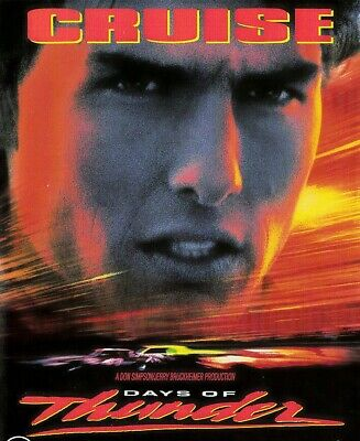 Days of Thunder DVD 1990s Vintage Release_Tom Cruise Movie