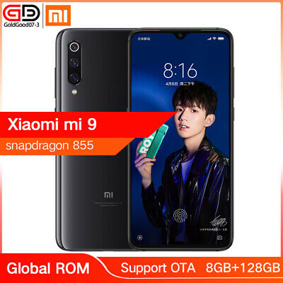 "Global Xiaomi MI 9 8GB 128GB Snapdragon 855 48MP Cameras 6.39"" Smartphone Negro"