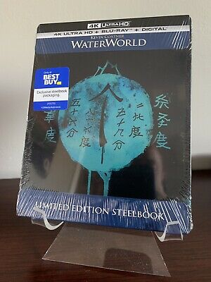 Waterworld Steelbook (4K UHD/Blu-ray/Digital) Factory Sealed SOLD OUT!