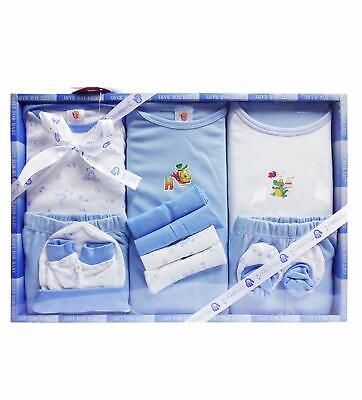 13 Piece Unisex Baby's Blue Color Gift Set Baby Shower Gift Free Ship RG