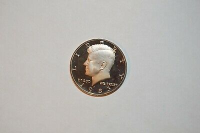 1983-S Kennedy Clad Proof Half Dollar Cameo - Mirror - COMBINED SHIPPING