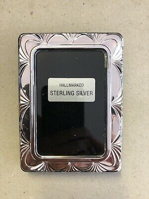 Hallmarked Sterling Silver Photo Frame