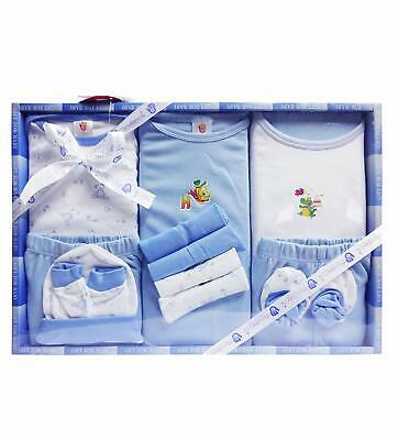 13 Piece Unisex Baby's Blue Color Gift Set Baby Shower Gift Free Ship MJ