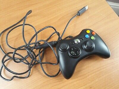Official Microsoft Xbox 360 Controller Gamepad Wired **FREE POST**