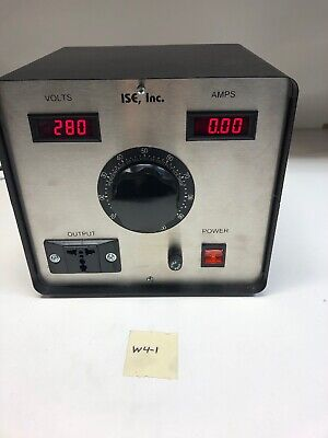 Staco Energy 3PN1520B-XDVAM Variable AC Transformer 120v Input 280v Output