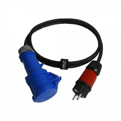 Cee Adapter 16A 2m 230V Plug Caravan Camping Coupling Adapter Cable 6503