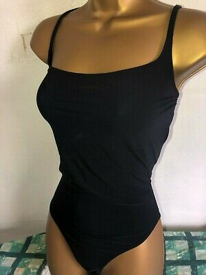 9d39a366896c1 SEXY LADIES MARKS And Spencer Black Tummy Control Swimsuit Size 14 ...