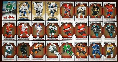2018-19 OPC Coast to Coast ROOKIES Pride of the North Franchise Heroes LOT of 24