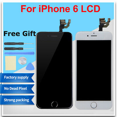 For iPhone 6 Front LCD Replacement Touch Screen Asembly A1549 A1586 +Homebutton