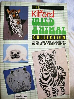 Knitting Pattern Book Wild Animal Knits By Melinda Costs 9 99