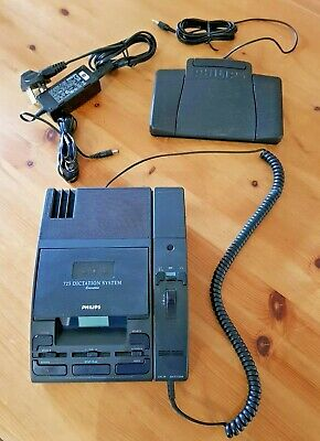 Philips 725 Executive Dictation System With Lfh276 Handset & Footpedal