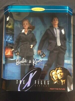 Barbie & Ken The X Files Giftset Collector Edition