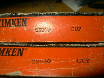 New Timken 29630 Tapered Roller Bearing Cup