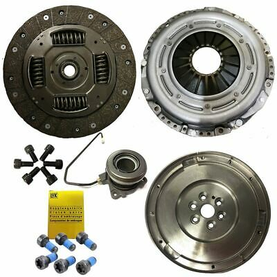Flywheel, Clutch Kit, Bolts And Csc For Opel Zafira B 1.9 Cdti