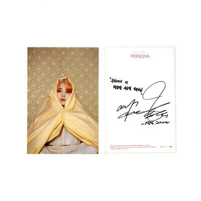 [BTS]MAP OF THE SOUL:PERSONA Official Postcard / Boy With Luv Postcard / JIMIN