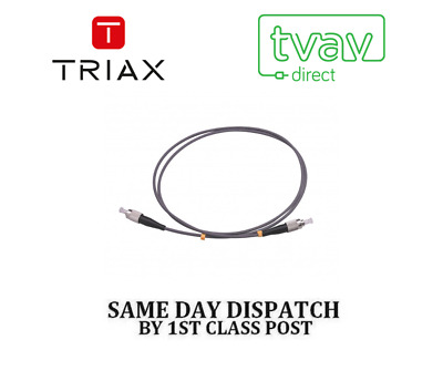 Triax 1M Fibre Pre-Terminated Optical Patch Cable FC/PC TFC01