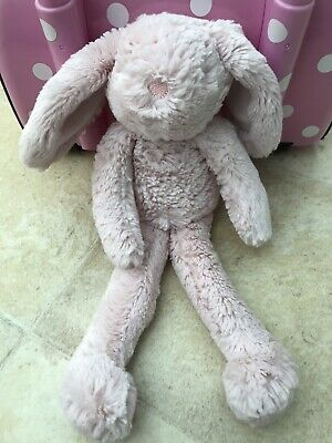 Next My Best Friend Pink Floppy Ears Bunny Rabbit Soft Comforter Toy