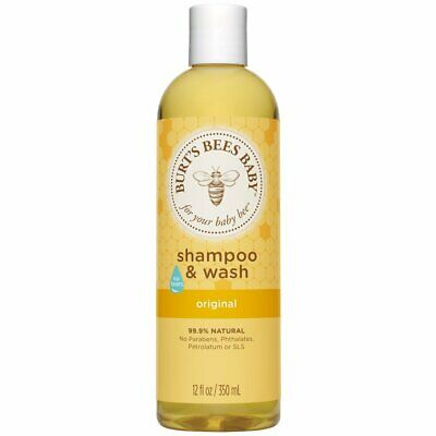 BURT'S BEES - Baby Bee Shampoo & Wash Original - 12 fl. oz. (350 ml)