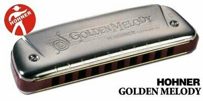 151572  Hohner 1266002 Hohner Golden Melody 542/20-Armonica AX