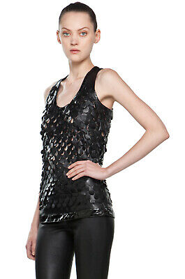Givenchy Leather Scale Tank  $2160    New With Tags