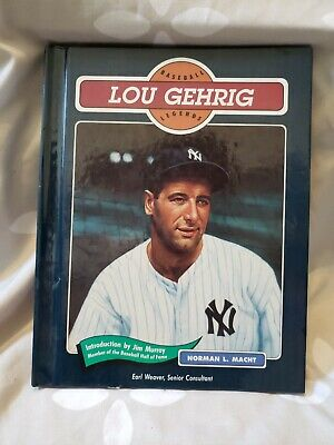 Baseball Legends: Lou Gehrig by Norman L. Macht (1992, Hardcover)