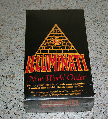 Illuminati INWO New World Order Unlimited Ed. Booster Box from 1995 SEALED!