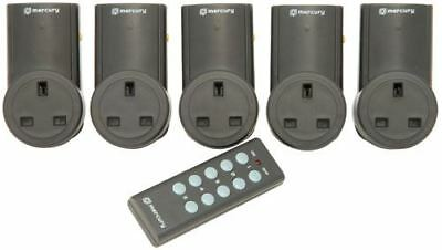 Remote Control Mains Socket Adaptor Set of 5  [350.115UK]